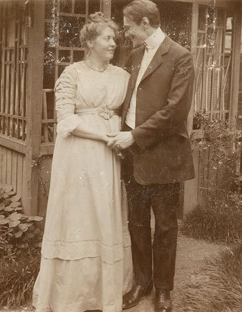 photo of Eberhard and Emmy Arnold at their engagement