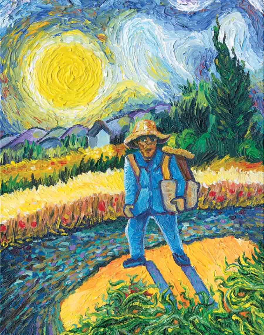 Vincent van gogh by jason landsel for De slaapkamer vincent van gogh