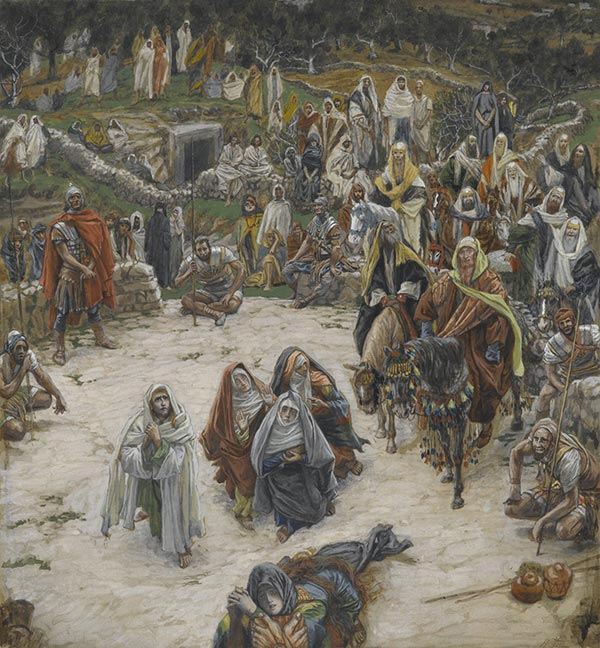 What Our Savior Saw from the Cross, painting by James Jacques Tissot