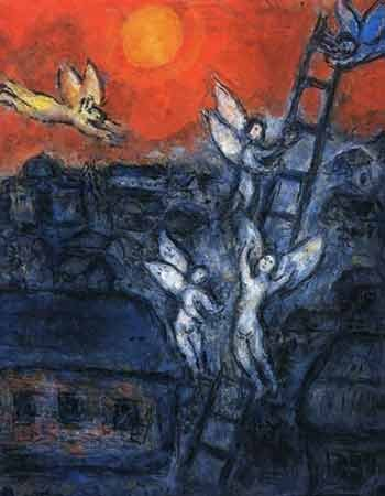 Detail from Marc Chagall