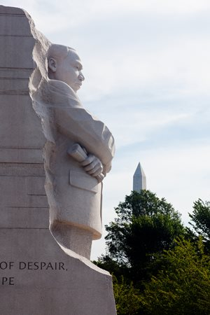 Martin Luther King Monument in Washington D.C.