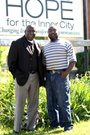 Paul Green and AJ Sanford of Hope for the Inner City.