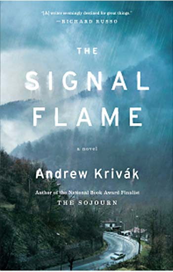 cover, The Signal Flame by Andrew Krivák