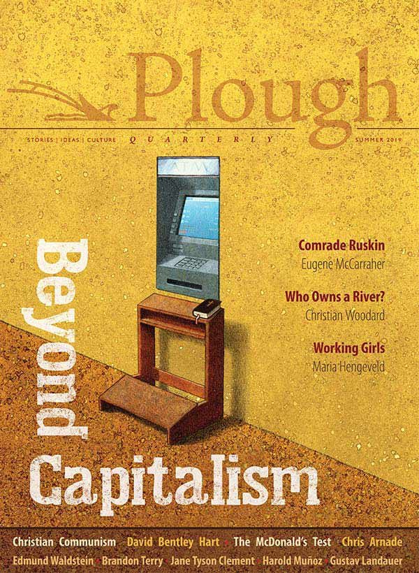 the front cover of Plough Quarterly No. 21: Beyond Capitalism