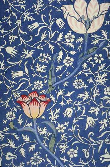 William Morris, Medway, printed textile, 1885