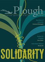 the cover of the Plough Quarterly Solidarity Issue